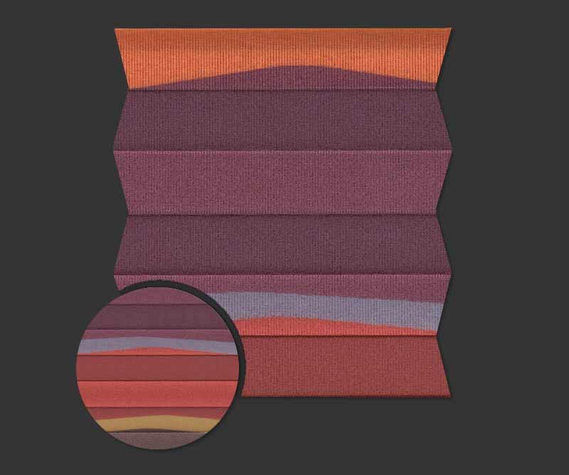 Rolety plisowane - plisy Rainbow 781