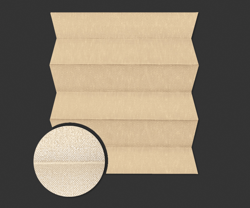 Rolety plisowane - plisy Messa Pearl 7705