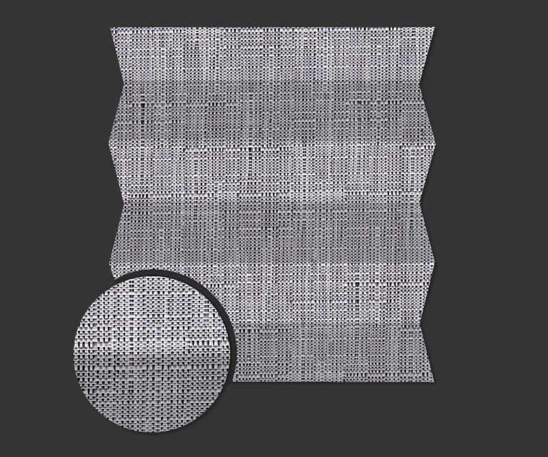 Rolety plisowane - plisy Cyrkon 6641