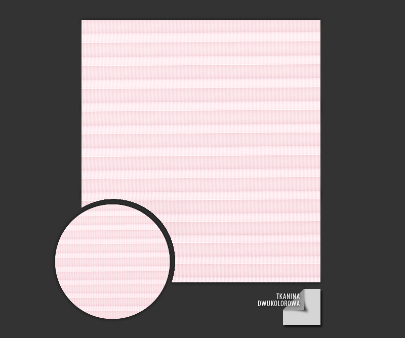 Rolety plisowane - plisy Awangarda 23