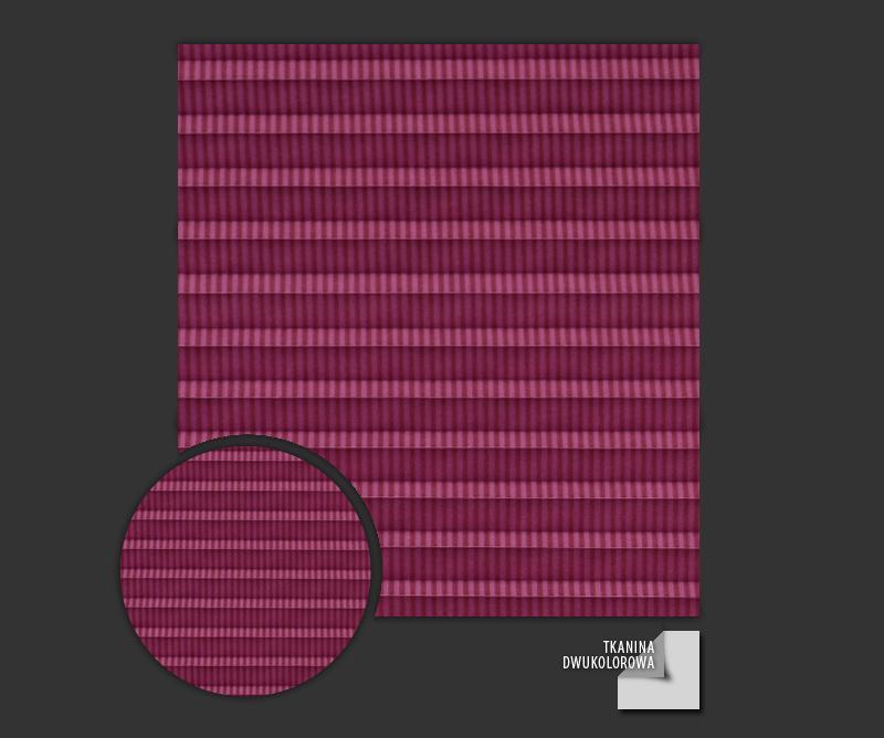 Rolety plisowane - plisy Awangarda 25